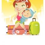 Nyaralás a babával, kisgyerekkel