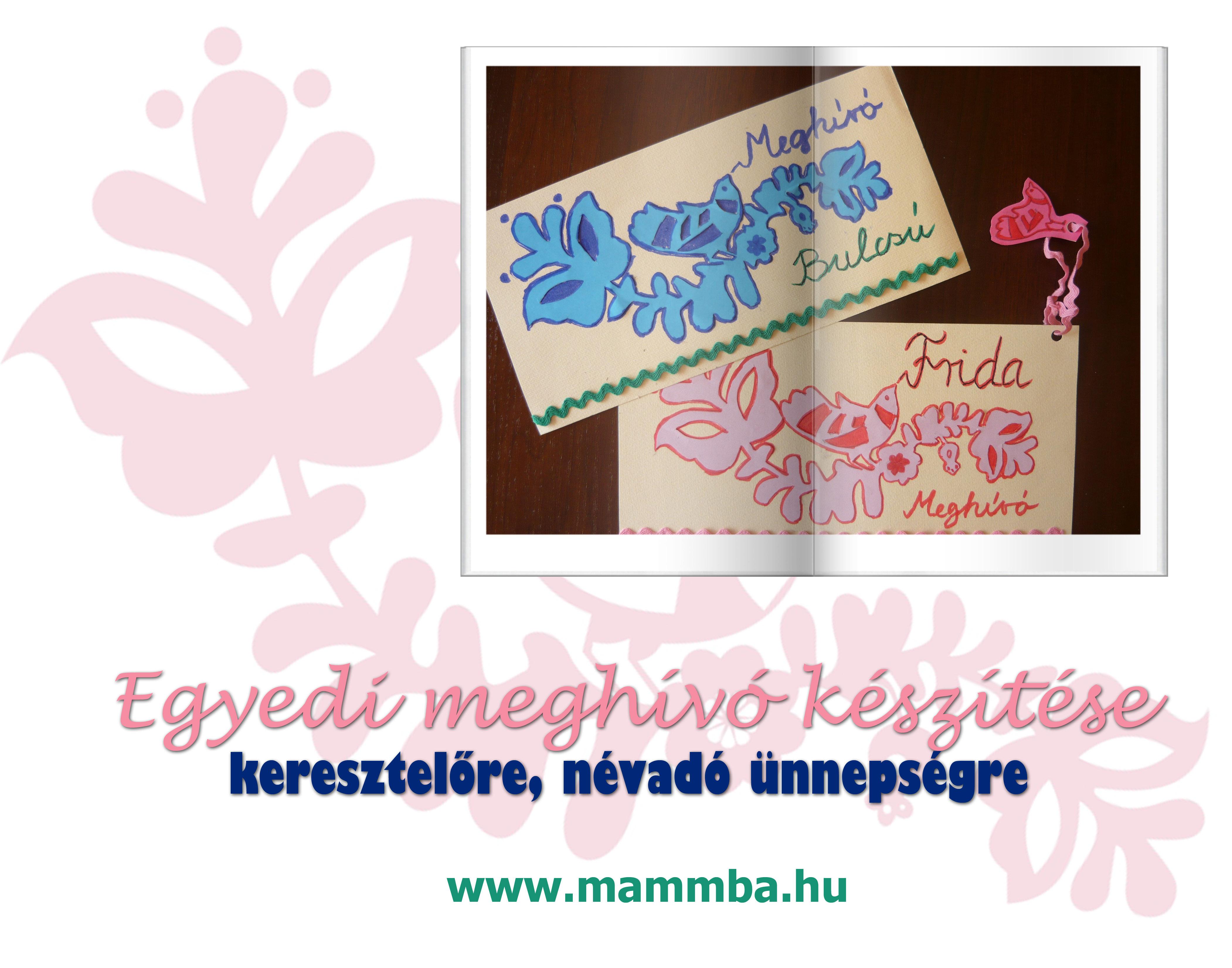 cb388046ea Ezt én is megcsinálom!: Egyedi meghívó készítése a baba ...