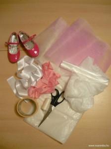 Tütü készítése kislányoknak