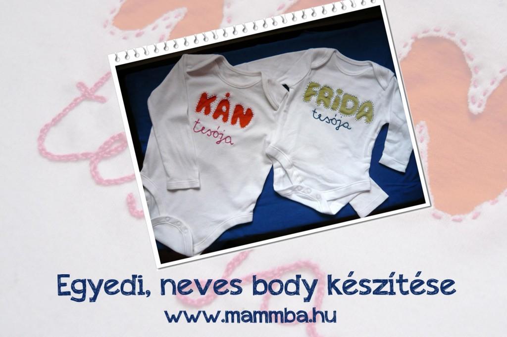 Neves body készítése kistestvér születésekor