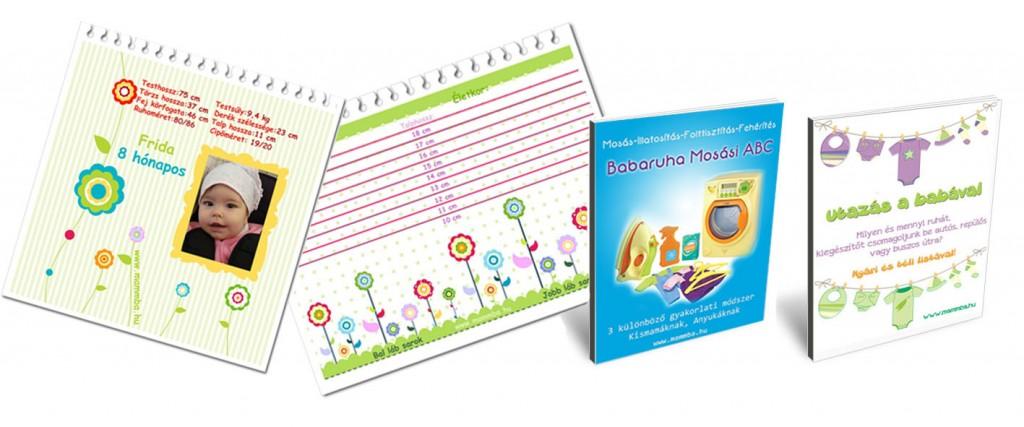 A baba és kisgyerek öltöztetéssel kapcsolatos letölthető listák, táblázatok, e-book-ok Anyukáknak