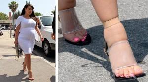 Kismama cipő-rossz példa