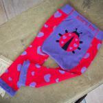 Katicás leggings és zokni kislányoknak