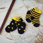 Rakétás leggings és zokni kisfiúknak
