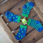 Szörnyecskés leggings és zokni kisfiúknak